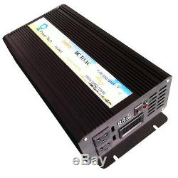 Solar Power Inverter 12V 110V 120V 1000W Pure Sine Wave Inverter Off Grid System
