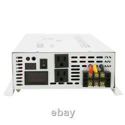 Solar Power Inverter 4000W Pure Sine Wave Inverter 12V to 220V Off Grid Convert