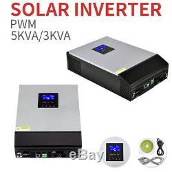 Solar Power Inverter Off Grid 3/5KVA 24/48VDC 230VAC Pure Sine Wave Inverter