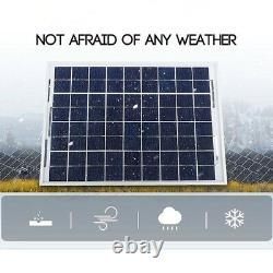 Solar Power Kit Generator 1000w Panel System Grid Station Inverter New 50A Us
