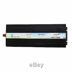 Solar Power Pure Sine Wave Inverter 2000W 12V to 110 120V Off Grid System DC AC