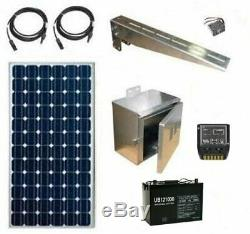 Solar Power System Off-grid Power for Cameras & Other Equipment 12 / 24V DC