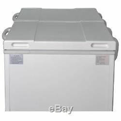 Solar Powered Chest Freezer AC 110V DC 12V 24V Camper Off-grid Refrigerator 303L