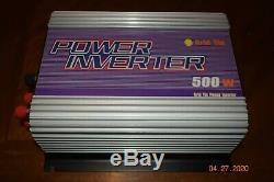 Sun grid tie power inverter 500 Watt sun-500G-wal solar power
