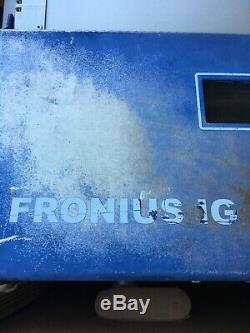Used Fronius IG 4000 Solar Grid-Tie Inverter Module Missing Parts Non Working