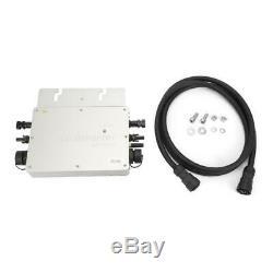 WVC-600W Micro Grid Inverter Waterproof Solar Power Converter 22-50VDC