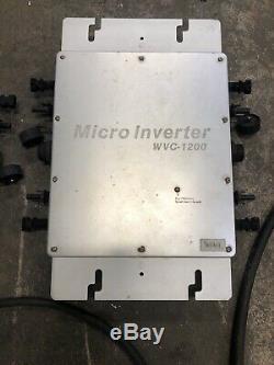 WVC1200W + 600watt Inverter 110V Solar Power Grid Tie Solar Power