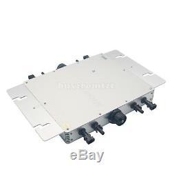 WVC1200W Inverter 110V 220V Solar Power Grid Tie Solar Power Pure Sine Wave B