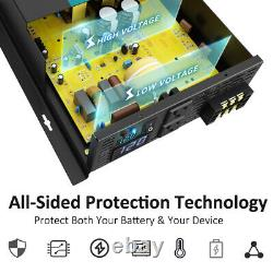WZRELB Power Inverter 1000W Pure Sine Wave 12V 120V Solar Home Off Grid System