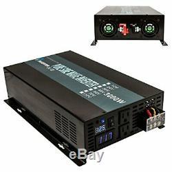 WZRELB Reliable 3000W Pure Sine Wave Solar Power Inverter 48V 120V Off Grid D