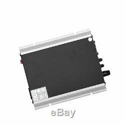WonVon Solar Power Inverters, AC110V 600W Micro Inverter Grid Tie Inverter Sta
