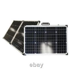 Xantrex 100W Portable Solar Panel Kit 10A Charge Controller Off Grid Power RV